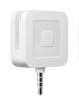 Square credit card chip reader