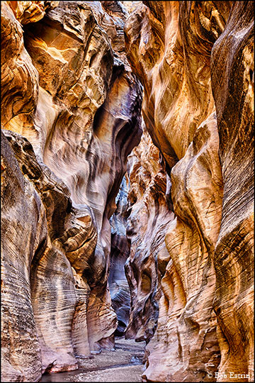 Utah slot canyon