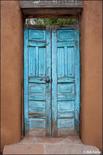 Southwest Blue Door