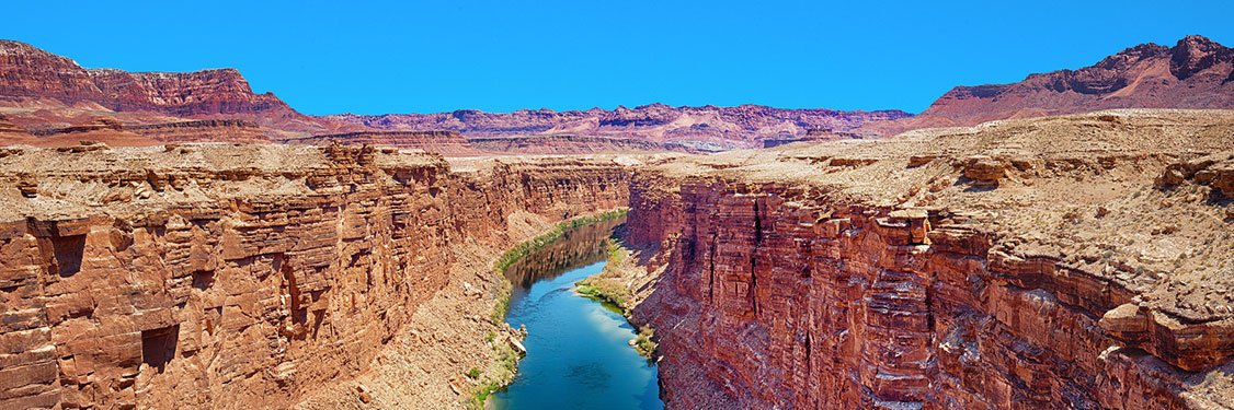 Grand Canyon North Rim panoramic