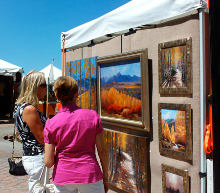 Selling your art at an art show or festival for Used craft fair tents