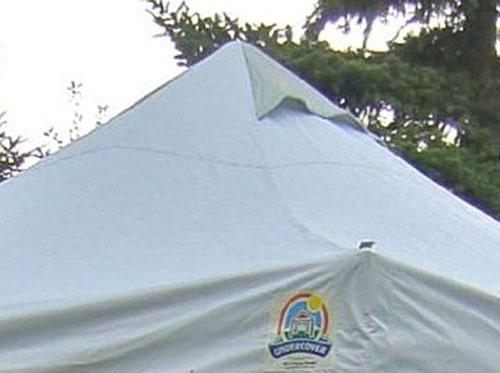 Undercover tent vent